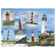 Lighthouses Jigsaw Puzzle - 750 Pieces, Multicolor