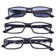 Reading Glasses with Sunreader Set of 3