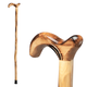 Wood Cane with Derby Handle