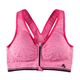 Easy Comforts Style Zipper Sports Bra w/ Removable Padding