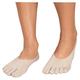 Healthy Steps Toe Socks With Gel Heels, One Size