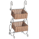 Wicker & Metal Storage Baskets by OakRidge Accents XL