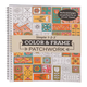 Adult Color & Frame Patchwork Coloring Book