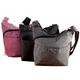Triple Zip Crossbody Bag