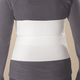 Surgical Grade Soft Stretch Abdominal Binder, One Size