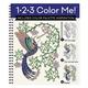 1-2-3 Color Me Hummingbirds Coloring Book
