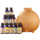 Healthful Naturals Premium Essential Oil Kit 600ml Diffuser