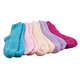 Assorted Plush Socks with Grippers, 5 Pair, One Size