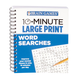 Brain Games 10-Minute Large Print Word Search Book