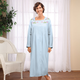 Long Sleeve Cotton Robe by Sawyer Creek