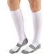 Cooling Compression Socks 15-20 mmHg White MED
