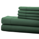 Hotel 5th Ave. 90GSM 6pc Microfiber Sheets, Hunter Green