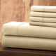 Hotel 5th Ave Solid Color Microfiber Sheet Set, Ivory