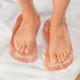 Himalayan Salt Detox Blocks for Feet, 1 Pair