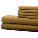 Hotel 5th Ave. 90GSM 6pc Microfiber Sheets, Gold