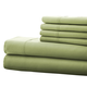 Hotel 5th Ave. 90GSM 6pc Microfiber Sheets, Sage