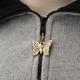 Butterfly Zipper Pull