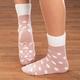 Celeste Stein Brushed Terry Cabin Socks