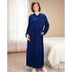 Front Zip Velour Robe by Sawyer Creek
