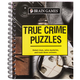 Brain Games True Crime Puzzles book