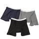 Men's 10 oz. Boxer Briefs, 3-Pack Assorted Colors