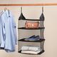 Collapsible Hanging Closet Shelf