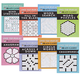 Brain Games Lower Your Brain Age, Set of 8