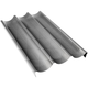 Chicago Metallic® Nonstick Baguette Pan, Three Loaves