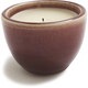 Round Filled Ceramic Candleholder, Purple
