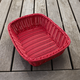 Woven Rectangular Serving Basket