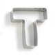 Letter T Cookie Cutter, 3