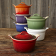 Le Creuset® White Heritage Covered Cocotte
