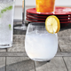 Shatter-Resistant BPA-Free Stemless Wine Glasses, Set of 6