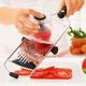 Rösle® Adjustable V-Slicer with Vegetable Grip