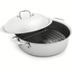 All-Clad d3 Stainless Steel French Braiser with Rack and Lid, 6 qt.