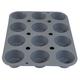 de Buyer® Elastomoule Silicone Muffin Mold, 12 Portions