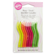 Wilton® Trick Birthday Candles, Neon Colors, Set of 9