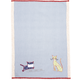 Pinstripe Cats Vintage-Style Kitchen Towel, 28