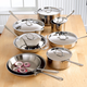 All-Clad® Stainless Steel 14-Piece Set