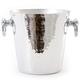 Mauviel® Hammered Aluminum Champagne Bucket