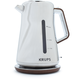 Krups® Silver Art Electric Tea Kettle
