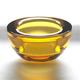 Amber Glass Tealight Candleholder