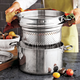 Sur La Table® Tri-Ply Stainless Steel Stockpot, 8 qt.