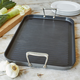 All-Clad® LTD Two-Burner Nonstick Grill Pan