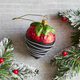 Chocolate Dipped Strawberry Ornament