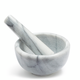 Sur La Table White Marble Mortars & Pestle, 2½
