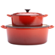 Le Creuset® Cherry Oval French Ovens