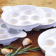 Porcelain Escargot Plate