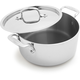 All-Clad®Stainless Steel Casserole Pans with Lids