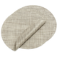 Chilewich Oyster Round Basketweave Placemat